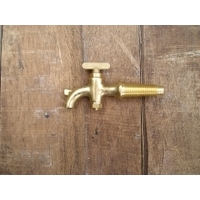 Small Taper Threaded Brass Tap -Size C