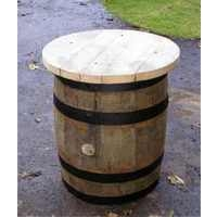 Kilderkin Barrel Table Rustic