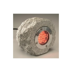 Natural Rock LED Light - Red
