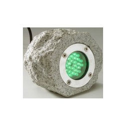 Natural Rock LED Light - Green