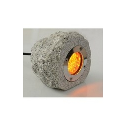 Natural Rock LED Light - Yellow