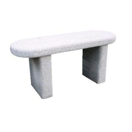 Straight Granite Bench Seat