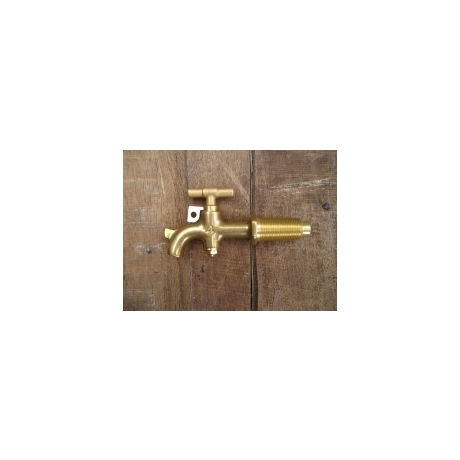 Taper Threaded Brass Tap - No 3