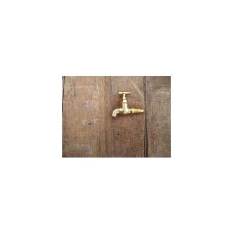 Taper Threaded Brass Tap - Size A