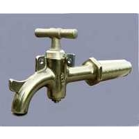 Large Taper Threaded Brass Taps