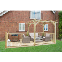 Ultima Pergola Deck Kit 2.4 x 4.9m