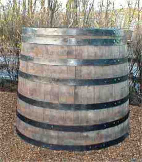 Large Oak Vat