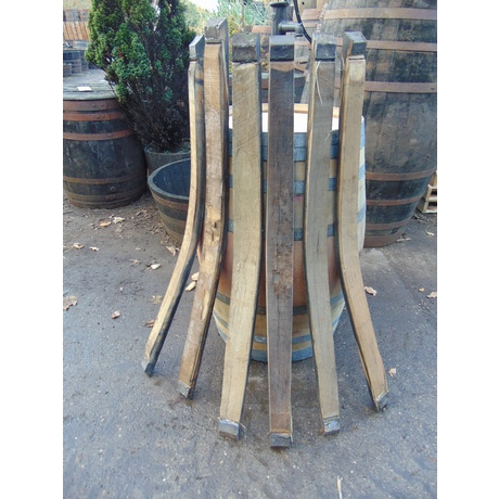 Vintage 100 Gallon Butt Staves