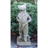 Whittington's Cat Stone Statue